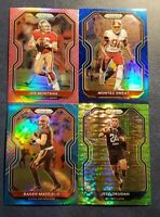 2020 Prizm Football Light Blue / Neon Green Pulsar / Pink with Rookies You Pick