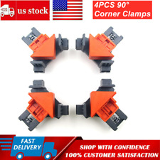 4Pcs/Set 90 Degree Right Angle Clip Clamps Corner Holders Woodworking Hand Tools