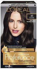 L'Oréal Paris Superior Preference Haircolour, #40 (Vendôme) Deep Brown