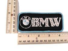 "X1 Vintage 80's Automobile Black ""BMW"" Hat or Jacket Patch!"