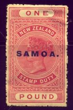 SAMOA  A NICE  OLD 1  POUND STAMP  in MINT   NO  RESERVE !!!!