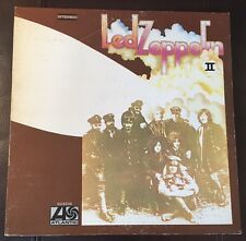 Led Zeppelin II NM Vinyl TESTED SD 8236 Ramble On Jimmy Page Reissue 1975