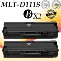 2PACK MLTD111S MLT-D111S Toner Cartridge For Samsung 111S Xpress M2070FW M2020W