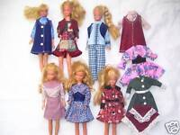 "NG Creations Sewing Pattern Six Fall Fashions fits Vintage 9"" Skipper Doll"