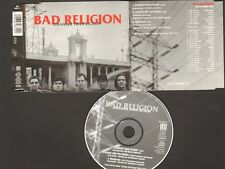BAD RELIGION Stranger than Fiction CD Single 3tr Leaders & Followers MEDIOCRITY