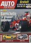 AUTO HEBDO n°1463 du 29 Septembre 2004 GP CHINE CHEVROLET CORVETTE C6 BMW M5
