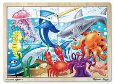 Melissa & Doug : Under the Sea Wooden Jigsaw Puzzle - 24 Pieces (NEW) 2938