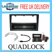 FP-19-00 OPEL VIVARO 2005 ONWARDS QUADLOCK FASCIA FACIA STEREO PACKAGE KIT