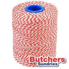 Red White Bakers Butchers Catering String / Twine 300 Metres