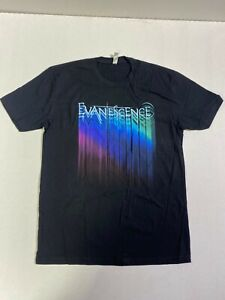 EVANESCENCE AMY LEE Logo tour Tee T-SHIRT NEW!!!  OFFICIAL MERCHAN