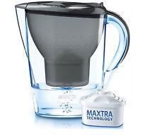 BRITA Marella Wasserfilter 1 Kartusche Tischwasserfilter Wasser Filter Graphite