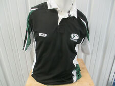 Vintage Guinness Stout Beer 1759 Sewn Medium Rugby Black Jersey Preowned