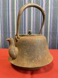 Iron kettle inscription without inscription without ironware teapot