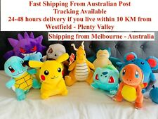 "Pokemon Plush Soft Toy Dolls size 8""to10"" Original Plush Brand New 10 Characters"