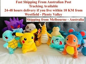 SALE!! Plush Toy Dolls Pokemon GO 10Characters Free Stickers With Every Purchase
