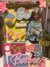 Barbie Pet Doctor with working X-ray machine dog cat 2004 collectible charm NEW