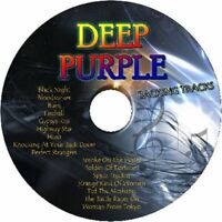 DEEP PURPLE GUITAR BACKING TRACKS CD BEST GREATEST HITS ROCK MUSIC PLAY ALONG