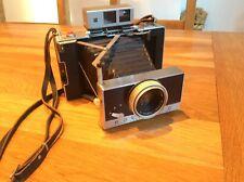 Vintage Polaroid Model 180 Land Camera in Original Leather Case & Accessories