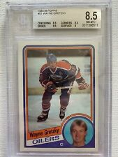 1984-85 WAYNE GRETZKY TOPPS #51 EDMONTON OILERS THE GREAT ONE MVP