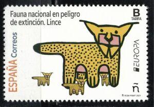 2021 Spain Europa CEPT MNH Endangered Wildlife