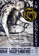 FISH - MARILLION - 1993 - Konzertplakat - Never mind - Tourposter - Berlin