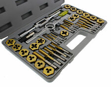 ABN Titanium Tap and Hexagon Die Set Metric 40-Piece