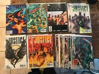 JUSTICE 1 2 3 4 5 6 7 8 9 10 11 12 VARIANTS ALEX ROSS NM LEAGUE OF AMERICA JLA