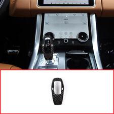 1pc Carbon Fiber Style Gear Shift Head Cover For Range Rover Sport 2018