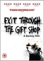 Exit par The Cadeau Shop A Banksy Film Revolver GB 2010 Région 2 DVD L Neuf