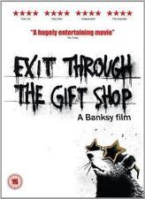EXIT THROUGH THE GIFT SHOP A BANKSY FILM REVOLVER UK 2010 REGION 2 DVD L NEW