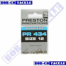 Preston Pr434 Barbless Spade End Match Carp Pellet Hooks All Sizes Fast 16