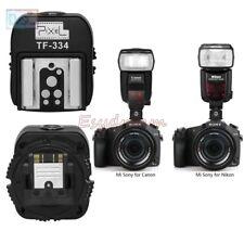 Pixel TF-334 HotShoe for Nikon Canon Flash on Sony New Multi-Interface Camera