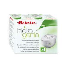 ARIETE 730010 FILTRO HIDROGENIA (X4) 4 Filtri Cartucce ai Carboni Attivi