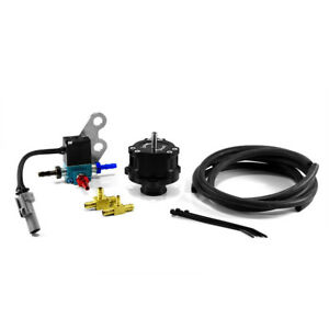 Boomba Racing 2015+ Ford Mustang EB Boost Op. BPV (Full Recirc.) BLACK ANODIZED