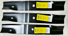 "Set of 3 John Deere 50"" mower blades M86209 AM39966 300 316 318 322 332 420 430"