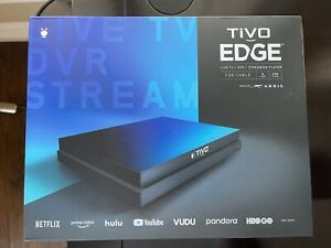 TiVo EDGE For Cable DVR Streaming Player With Annual Plan
