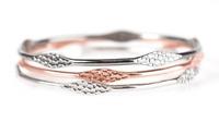 Paparazzi silver / copper / gun metal bracelets NWT