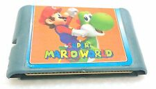 video game cartridge 16 bit super mario world videogame cassette z4