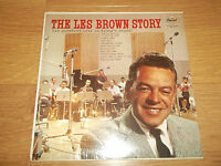 """GREATEST HITS OF LES BROWN """" THE LES BROWN STORY """" VINYL LP SM 1174 SEALED"""
