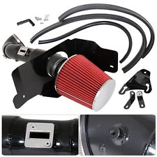 """For 2005-2009 Ford Mustang V8 4.6L 3.5"""" Filter Cold Air Black Piping System"""