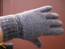 Men's gloves PURE SHEEP WOOL 100% natural homemade very warm craft Russian