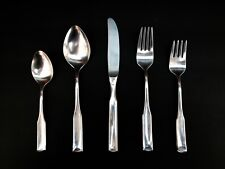 CARL MERTENS 'WILLIAMSBURG' 5 PC PLACE SETTING 18/8 STAINLESS FLATWARE GERMANY