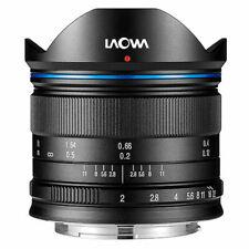 Venus Laowa 7.5mm f/2 for Micro Four Thirds Panasonic Olympus Blackmagic Black
