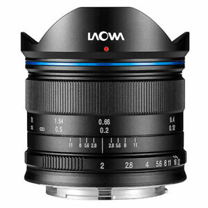 Venus Laowa 7.5mm f/2 for Micro Four Thirds Panasonic Olympus Blackmagic Black