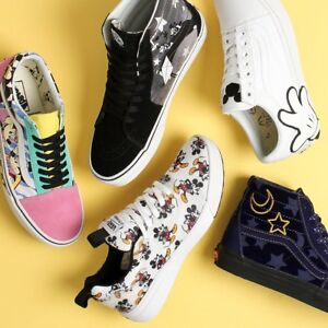 Vans Men's Women's X Disney Mickey & Minnie Mouse 90th Anniversary Shoes