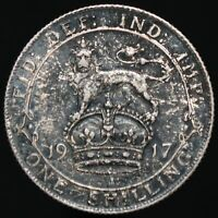 1917 | George V One Shilling | Silver | Coins | KM Coins