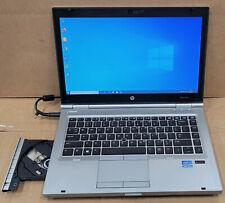 HP EliteBook 8470P i7-3520m 2.90GHz 8GB 500GB WebCam DVDRW AMD Graphics Win10pro