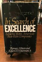 IN SEARCH OF EXCELLENCE: Lessons From America's Best-Run Companies by Peters