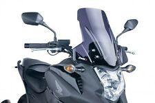 Puig Touring Windscreen 2012-2013 Honda NC700X Dark Smoke / 5992F