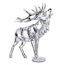 "SWAROVSKI SILVER CRYSTAL ""STAG RARE ENCOUNTERS"" 291431 MINT IN BOX"